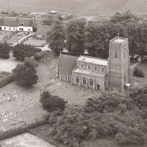 All Saints Church Aerial View2